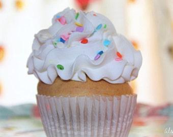 "Original Cupcake Photo Print ""Sprinkle Thief"" - Home Decor"