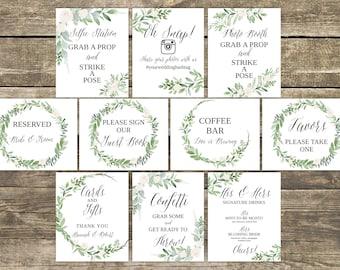 Wedding signs | Etsy