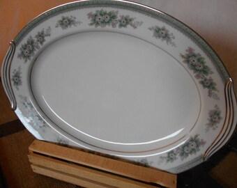 Noritake China platter 5504 Bristol Japan