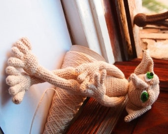 Elf Amigurumi - PATTERN Elfo inspired Dobby: Crochet Pattern. PDF. Digital Download