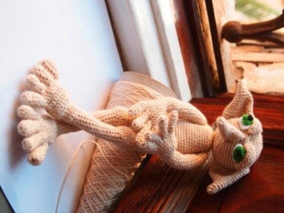 Elf Amigurumi Pattern Elfo Inspired Dobby Crochet Pattern