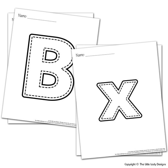 Abc And 123 Coloring Pages