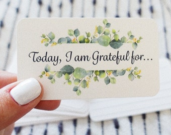 Gratitude Cards (set of 250 cards)