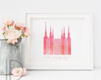 Washington DC temple, lds temple, washington dc, temple, lds art, lds temple art
