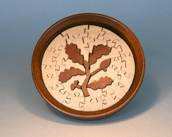 Hand crafted Jigsaw in a Bowl (National Trust pattern) (ref 205b)