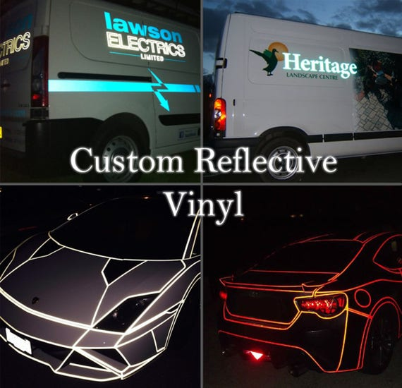 Reflective Vinyl Sticker &CS27