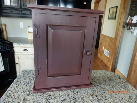 Unfinished Spice Medicine Cabinet With Two Adjustable
