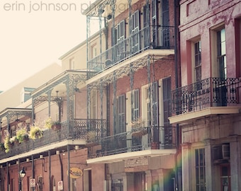 New Orleans Photography Chartres Street  Fine Art Photograph French Quarter Wall Art Home Decor New Orleans Art