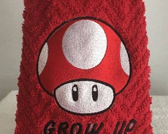 Super Mario Nintendo hand towels