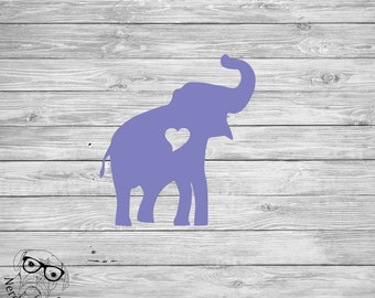 Elephant Decal, Elephant Car Decal, Elephant Cup Decal, Elephant Mug Decal, Elephant Laptop Decal, Elephant, DIY -You choose size, color.