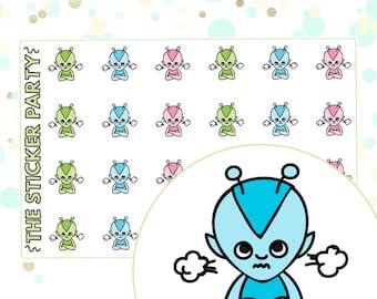 Grumpy Lumi Grumpy Planner Stickers