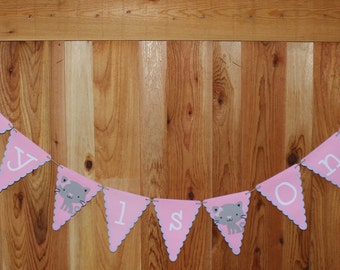 Cat Party Banner