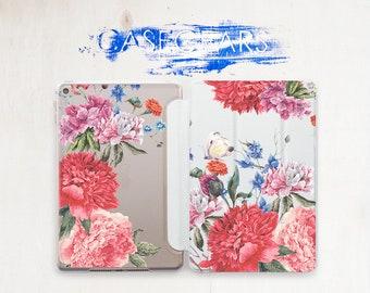 Red Flowers iPad 6 Case iPad 10.5 Case iPad Air 2 Case iPad Pro 9.7 Case iPad Air Case iPad Air 2 Cover iPad Cover iPad Air 2 Cover CG4119