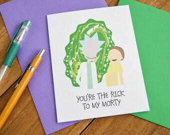 Pop Culture Love Card - Love Cards, Best Friend Card, Friendship Card, Cute Love Card, Happy Valentine's, Valentine's Day Card, I Love You