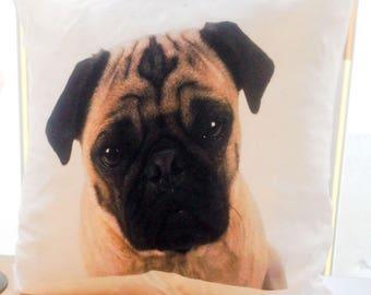 Cute Pug Puppy Cushion