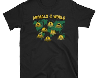 Renamed Animal Shirt Meme T-Shirt Animals In The World