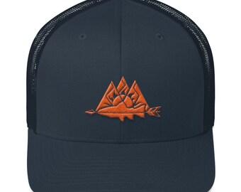 Navy Sun Trout Hat
