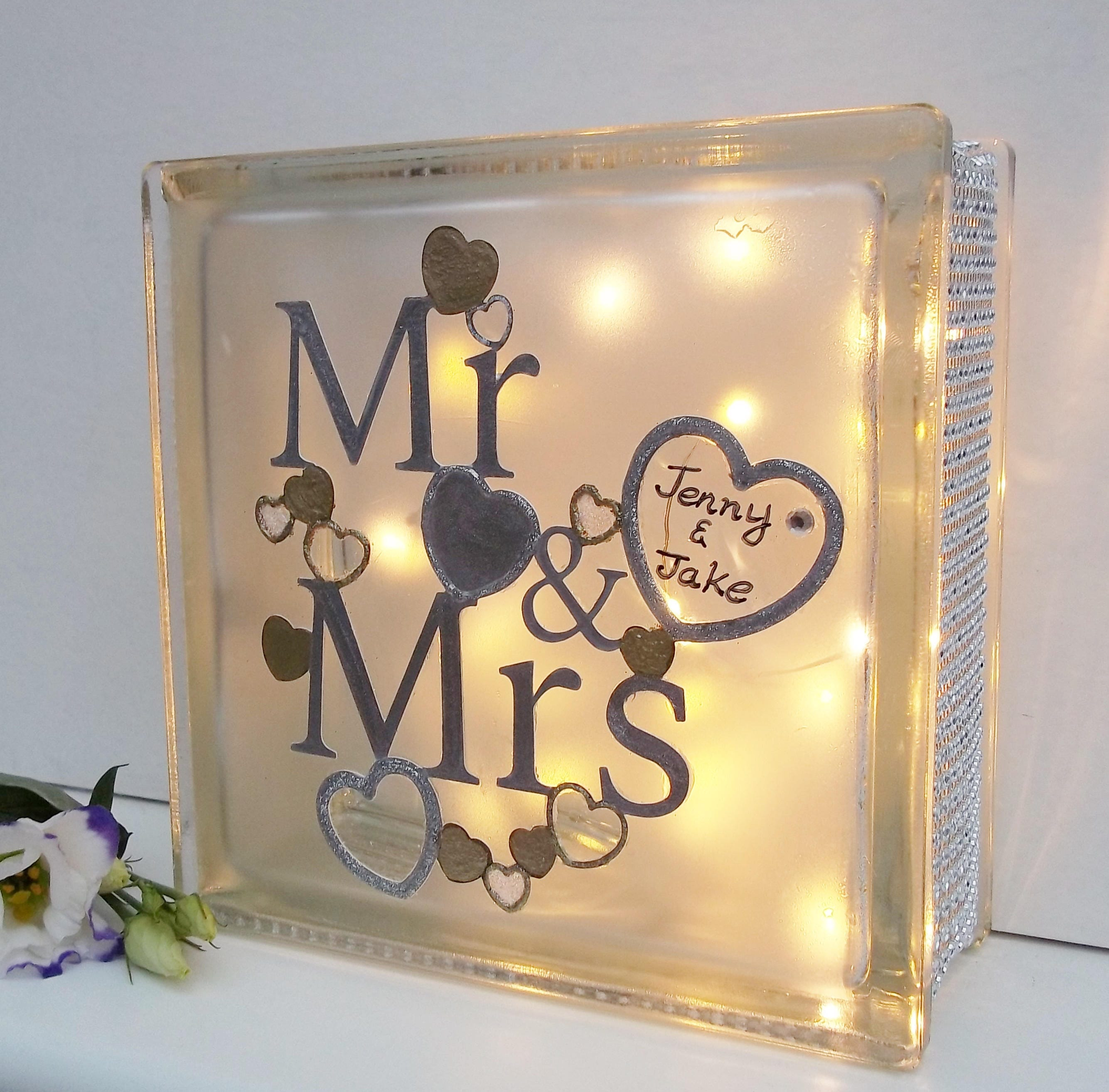 Personalised Wedding Gift Unique Wedding Gift Mr And Mrs