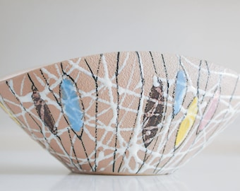 Fratelli Fanciullacci Italy Mid Century Modern Ceramic Bowl