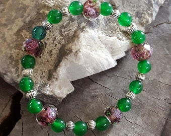 Irish Rose Bracelet