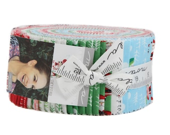 The North Pole by Stacy Iest Hsu for Moda - Factory Precut - Jelly Roll - SAMPLE SPREE PRECUT