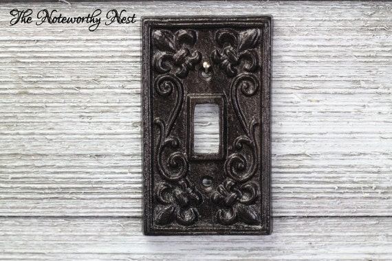 Any color cast iron switch plates light covers