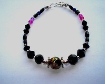 Black Cloisonne Bracelet