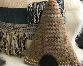 Teepee Pillow
