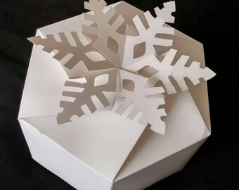 Large Snowflake Gift Box