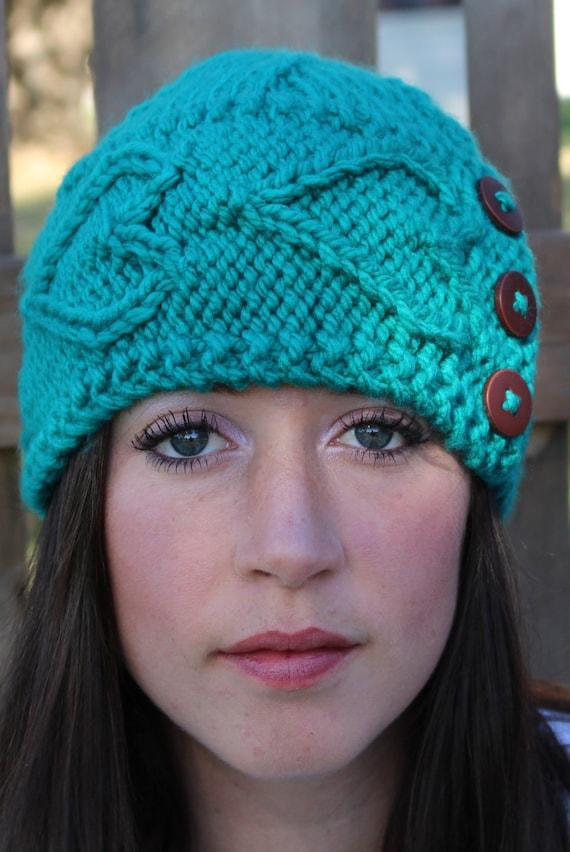 DIGITAL Download Knit hat KNITTING PATTERN chunky knit hat