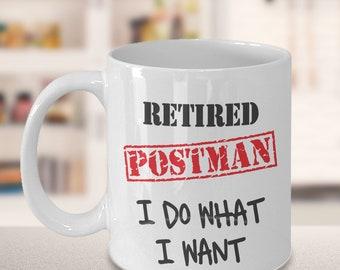 Postman Retirement Gift, Mail Carrier Gift, Mailman Retire, Postman Gift, USPS Retire Mug, Mailwoman Gift, Postal Worker Retirement Gift