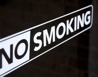 No Smoking - Vinyl Decal