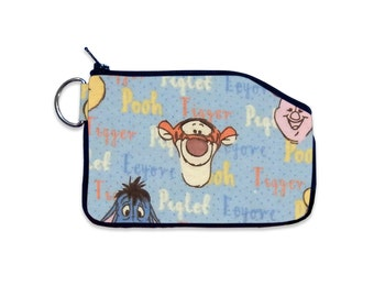 Disney Tigger Coin Pouch, Small ID Wallet, Zipper Wallet, Bag Accessory, Vacation ID Wallet