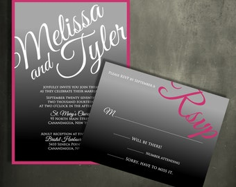 The Ombre Invitation Suite - New This Season