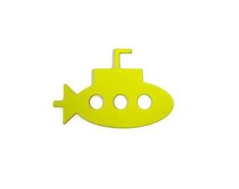 Submarine Paper Cut Out set of 30