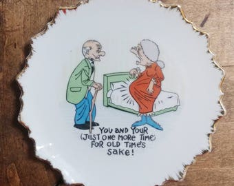 Saucy Novelty Decorative Plate