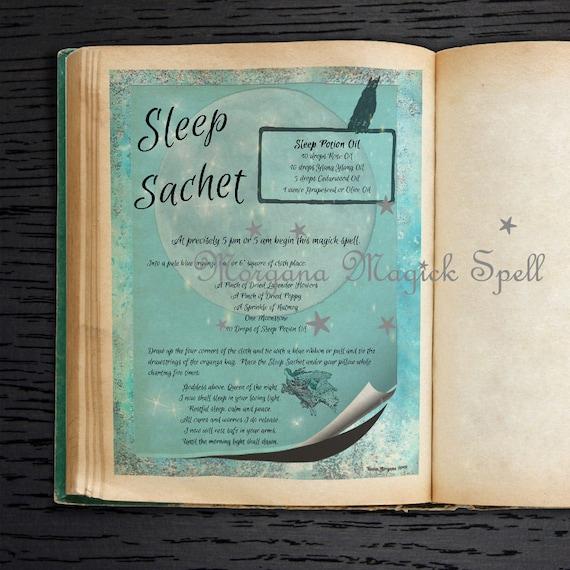Sleep Sachet Spell