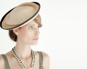 Straw Hat For Women , Womens straw hat , hat for special occasions , Straw fascinator