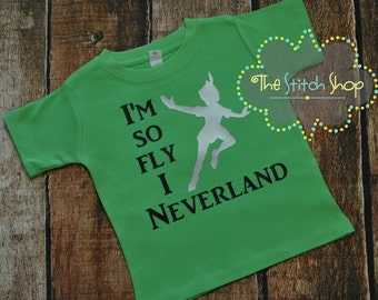 So Fly I Neverland Silhouette and SVG file