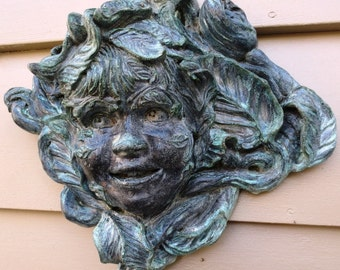 Happy Greenchild Brings Joy to Your Home & Garden, Hanging Sculpture