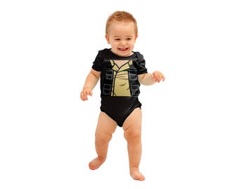 Hans Solo Inspired Costume onesie | Baby Super Hero| Halloween Costume | Kids Cosplay | Baby Shower Gift | Star Wars | Han Solo | Costume
