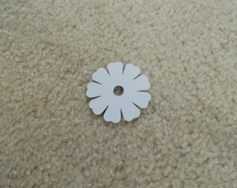 """25 Flowers for Scrapbooking/Cardstock Cutout Embellishments! Measures 2"""" x 2"""""""