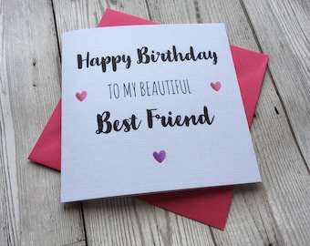 Friend birthday card Etsy
