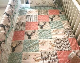 Patchwork Crib Blanket