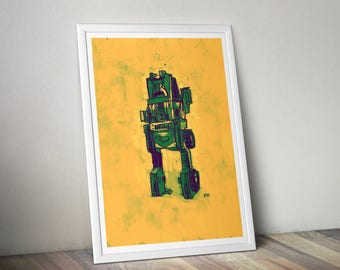 Brawn Transformers A4 Print
