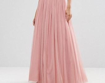 DOROTHY  Bridal Tulle Skirt Ivory Wedding Skirt Bridal Separates Wedding Separates bridesmaid tulle skirt Plus Size Available