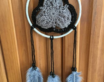 Triangle Crochet Dream Catcher