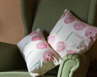 Sea Pink Cushion Cover