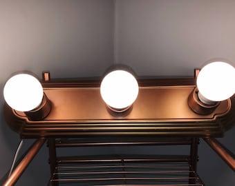 Hollywood Style Bar Vanity Light Fixture/ 3-Bulb