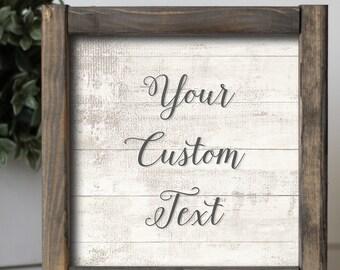 Superbe Custom Sign | Custom Framed Sign | Custom Farmhouse Sign | Custom Signs | Home  Decor
